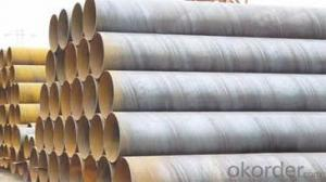 SPIRAL STEEL PIPE 38'' ASTM API LARGE DIAMETER PIPE
