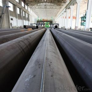 API SSAW LSAW CARBON STEEL PIPE LINE OIL GAS PIPE 58''