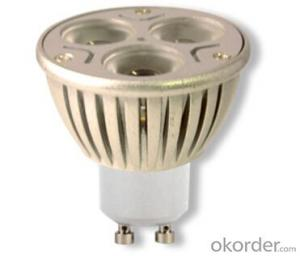 LED  Spotlight  GU10-PL022-2835T3X1W Warm White