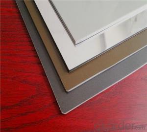 Polyester aluminium composite panels( Globond)