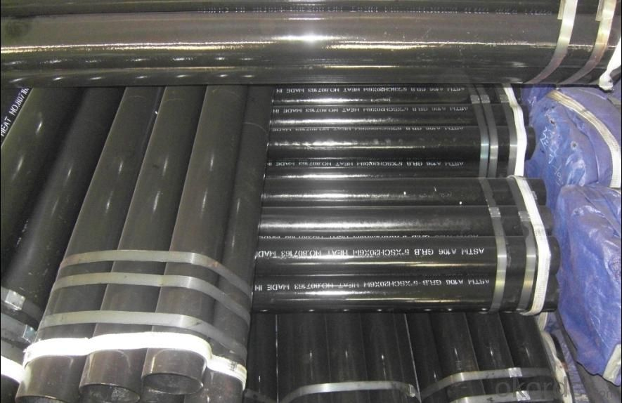 Seamless Steel black Pipe ASTM A106/ASTM A106 GR.B