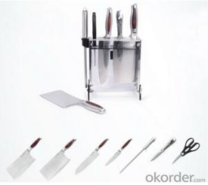 Art no. HT-KS1019  Stainless steel knife set