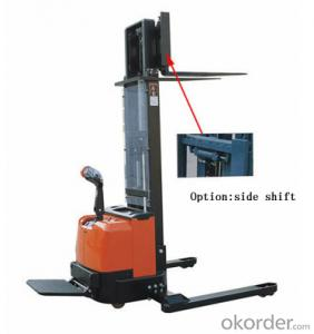 Straddle Power Stacker-CDD series auto lifting function