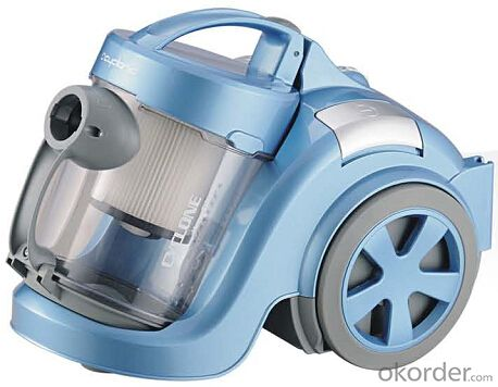 Cyclonic style vacuum cleaner with inlet HEPA filter#C6215