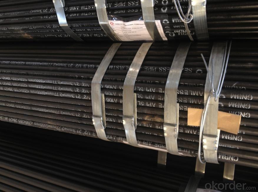 20# Seamless steel black pipe ASTM A106/API 5L/ASTM A106 GR.B