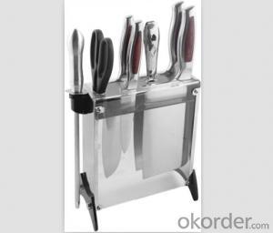 Art no. HT-KS1019  Stainless steel knife set