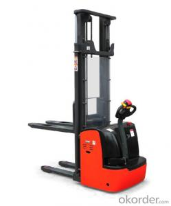 Power stacker with straddle legs--CLR15 series