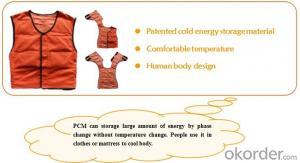 Phase Change Material PCM Cooling Vest CMAX