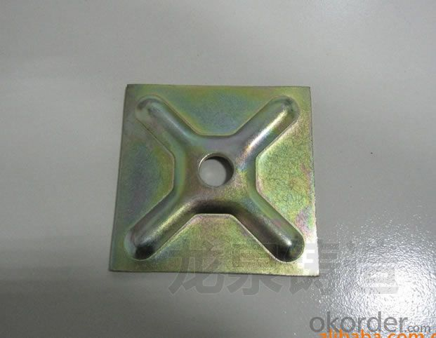 Formwork waller washer plate tie rod plate