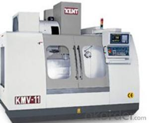 KMV Vertical Machining Center,Hardened and precision ground guide-ways