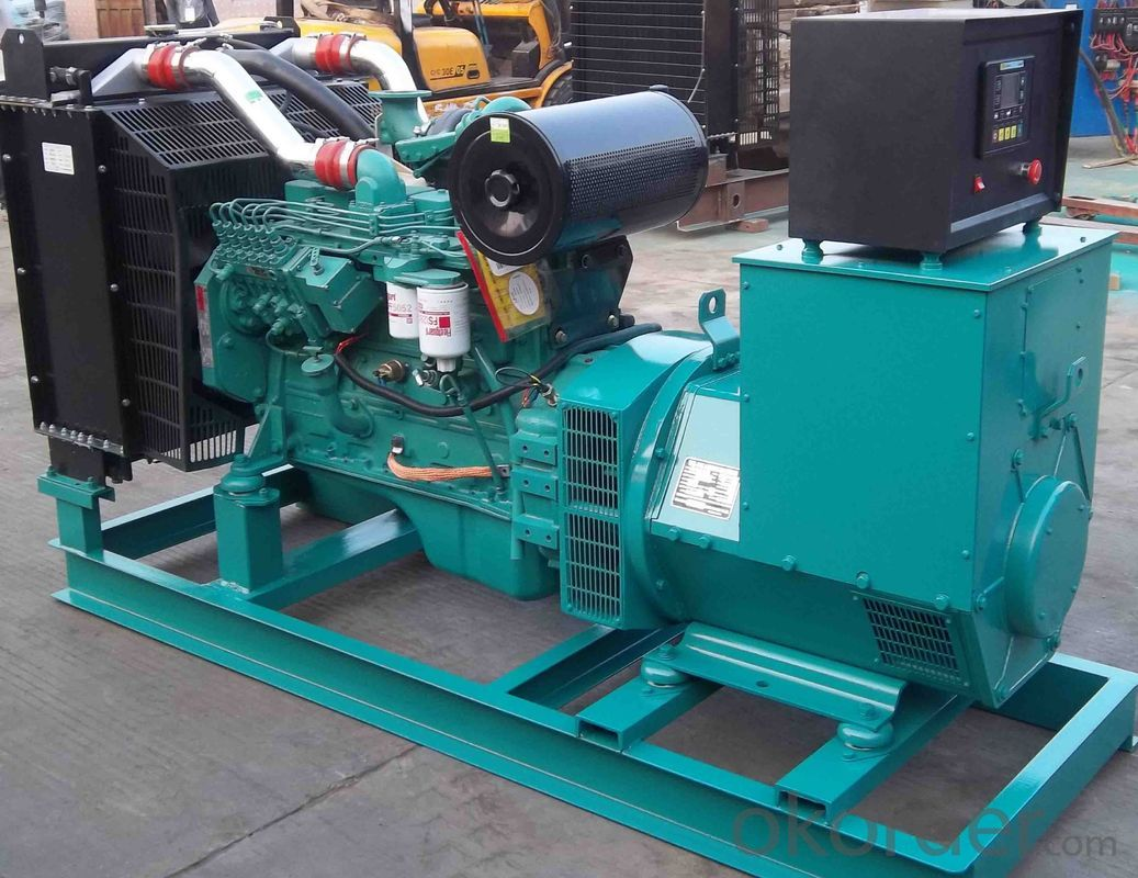 Water Cooled Genset Diesel Generator , 35kw To 680kw Back Up Generator