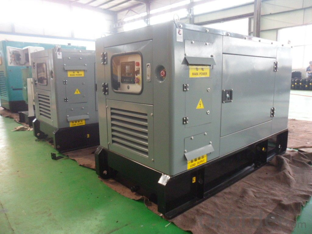 Industrial Genset Diesel Generator 36kw To 660kw With Perkins Engine
