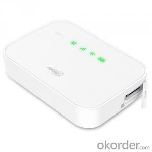 HAME-A19,3G portable mifi with 5200mah power bank