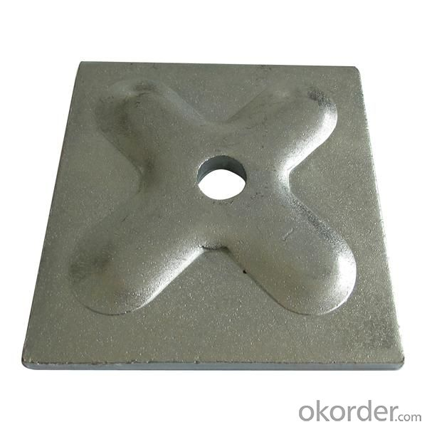 Washer plate formwork accessories fit to tie rod