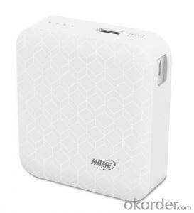 HAME-MP7,6000mah li-ion power bank,18650 battery