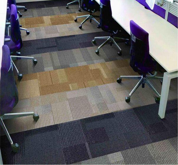 2015 hot sale Office Floor Carpet Tiles, Polypropylene Commercial carpet tiles