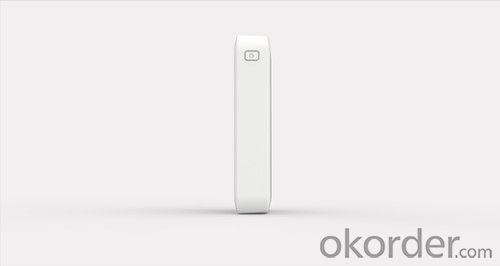 HAME-MP10,white color,10000mah li-ion power bank,18650cell