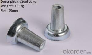 Steel cone Galvanized for scaffolding accessories