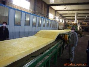 Thermal Insulation Fiber Glass For Building Roofing and Wall40KG/M3