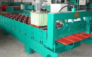 GALVANIZED STEEL ROOF ROLL FORMING MACHINE
