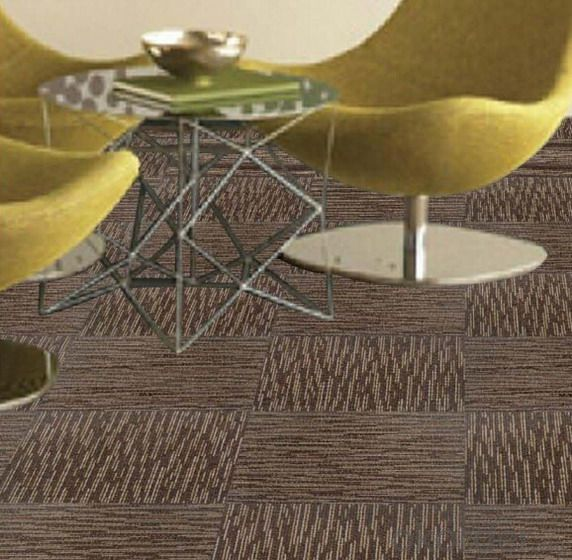 Commercial Nylon Office Carpet Tiles PVC backing fire retardant carpet tiles