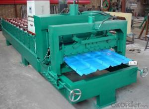 DOUBLE  LAYER FOR ROOF ROLL FORMING MACHINE