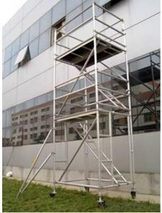 Double-width Stairway Ladder and Walk thru Frame JS-S400 Series