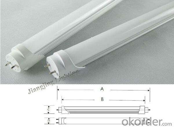 2835 SMD 1.2m T8 18W LED TUBE with 3 years warranty