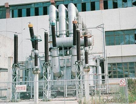 400MVA/220kV main transformer power plant