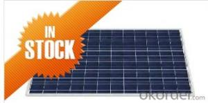 Poly Solar Panels 200W with CNBM Fortune 500