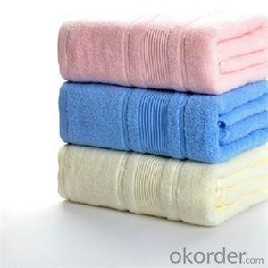 Microfiber towel for household cleaning in fine quality