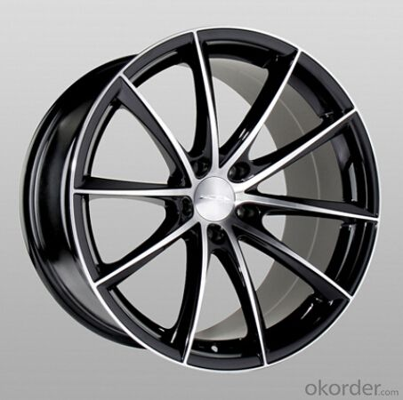 good quality car rims 17 inch black effective energy-saving