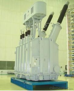 31.5MVA/220kV single phase traction transformer