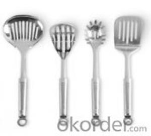Art no. HT-KW1006 Stainless Steel Kitchenware Set