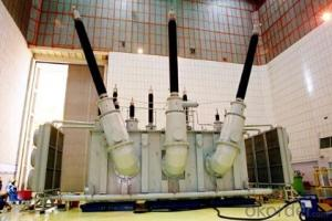 360MVA/500kV three-phase self coupling OLTC interconnecting transformer power plant
