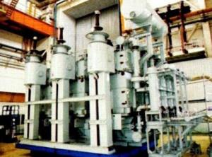 250MVA/242kV three phase combined shell type transformer for hydro power station