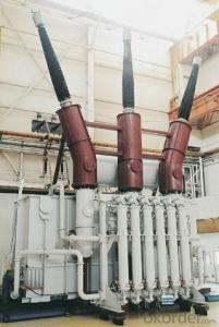 840MVA/550kV three phase water cooling main transformer for the hydro power station
