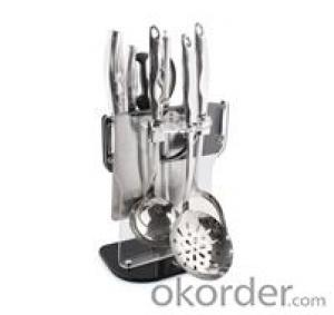 Art no. HT-KW1005 Stainless Steel Kitchenware Set