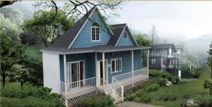 Villa Prefabricated Model YHV04 for Hotel with Cheap Price