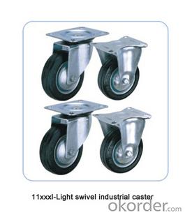Industrial caster  -- 11xxx / 12xxx