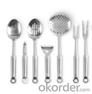Art no. HT-KW1006 Stainless Steel Kitchenware Set
