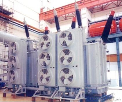 150MVA/345kV three phases self coupling generator interconnection transformer
