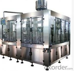 Three in One Carbonated Beverage Filling Machine
