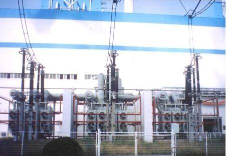 270MVA/525kV single phase transformer power plant