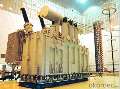 400MVA/230kV power transformer exported to USA