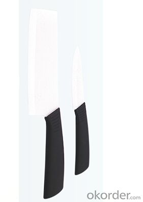 Art no. HT-TS1024 ceramic knife,special color