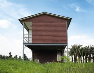 Villa of Light Steel Prefabricated House Model  Modern Design with Low Price