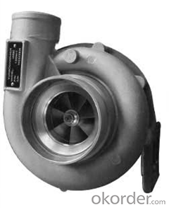 HX50 Turbocharger 3537639 Engine Turbo for Scania Commercial Truck