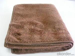 Microfiber towel for body cleaning in fine quality