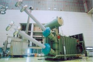 278MVA/500kV single-phase double winding OLTC converter transformer
